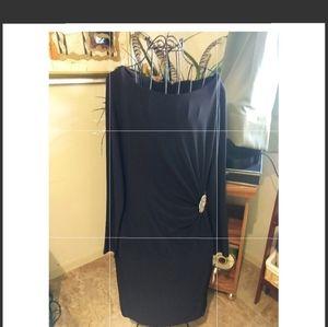 Ralph Lauren Classic 'Basic Black' L/S Dress NWT
